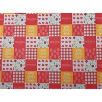 Print Pretty Pink Girl Patchwork Panel (One meter)
